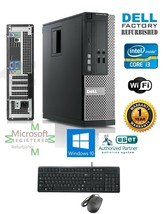 Dell Computer 990 Core i3-2120 DESKTOP PC 3.10Ghz 4Gb 250Gb Windows 10 Pro 32 - $269.80