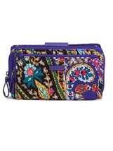 Vera Bradley Iconic Deluxe All Together Crossbody Bag, Romantic Paisley