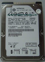 """60GB IDE 2.5"""" Drive Hitachi HTS541660J9AT00 Tested Free USA Ship Our Drives Work"""