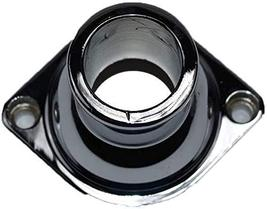 A-Team Performance Straight Water Neck Thermostat Housing Chrome Aluminum Compat image 2