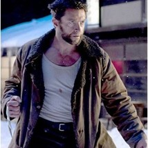 The Wolverine Hugh Jackman Leather Coat Jacket - BNWT - $189.99