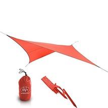 Outdoor Vitals - Ultralight Tarp for Hammock/Shelter - 20D Silpoly (Red,... - $91.54 CAD
