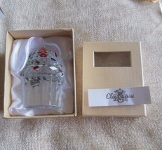 Oleg Cassini Crystal Cupcake With Sprinkles &  Cherry Paperweight - $44.55