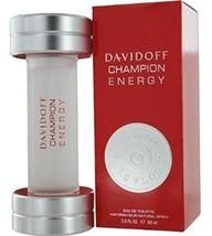 Davidoff Champion Energy Men Eau De Toilette Spray 3 Oz, 90 Ml - $49.74