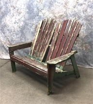 Wooden Adirondack Bench Chair, Outdoor Patio Furniture, Loveseat, Family... - $299.00