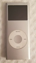 Apple iPod Nano Model: A1199 2nd Generation Silver 2GB - $6.89