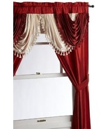 Regal Home Collections Amore 54-Inch by 84-Inch Window Set with Attached... - $18.73