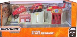 Matchbox On a Mission - Mission: Blaze Brigade Play Set - $38.69