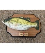 Big Mouth Billy Bass Singing Fish Take Me to the River Don't Worry 1999 Gemmy - $29.69