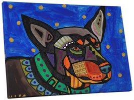 "Pingo World 0708QB17K7A ""Heather Galler Australian Kelpie Dog"" Gallery W... - $53.41"