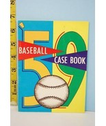 NFHS 1959 Baseball Case Book National Alliance Ed. High School College - $9.99