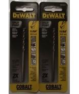 DEWALT DW1211 11/64-Inch Cobalt Split Point Twist Drill Bit 2pcs. - $4.21