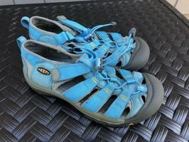 Keen Newport Women's Aqua Blue H-2 Newport Sport Sandals - US 5 EU 38 GUC - £16.33 GBP