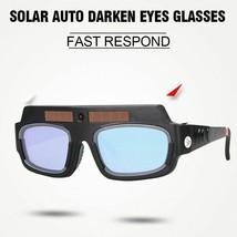 Welding Glass Solar Auto Darkening Safety Welder Goggles Mask Working Tool  - $20.85