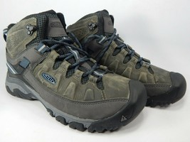 Keen Targhee III Mid Top Size 8.5 M (D) EU 41 Men's WP Hiking Boots Gray 1017788