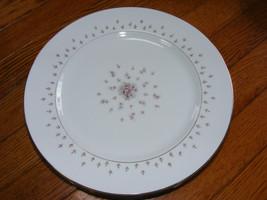 "Set of 4 Nikko Seyei JAPAN Fine China Normandy 460 10"" Dinner Plates Ros... - $25.00"