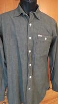 nwot Polo Ralph Lauren Men's Long Sleeve Shirt  Chambray Blue Label Medium - $38.61