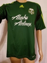 Portland Timbers Army Green Jersey Womens Size Large Adidas MLS Soccer C... - $434,12 MXN