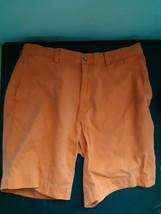 Polo Ralph Lauren Shorts Orange Salmon Colored Size 36 100% Cotton 4 Pockets - $24.70