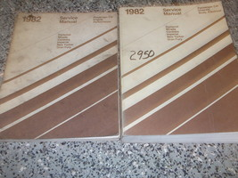 1982 Chrysler NEW YORKER Service Shop Repair Manual Set OEM FACTORY - $24.70