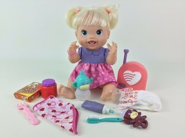 Baby Alive Doll New Teeth Drink Wet 2010 Hasbro Accessories Blonde Tooth... - $40.05