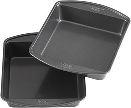 Wilton Perfect Results Premium Non-Stick Bakeware 8-Inch Square Cake Pan... - ₹1,394.25 INR