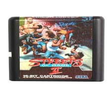 Streets Of Rage 2 16 bit MD Game Card For Sega Mega Drive For Genesis - $9.50