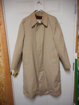London Fog Trench Coat Removable Liner USA 38 Long  - $12.82