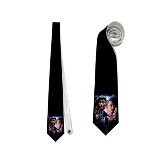 necktie shawshank redemption  memorabilia neck tie