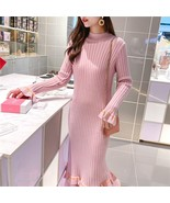 2019 new autumn and winter decoration body was thin and long section ove... - $32.30