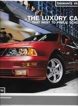 2002 Mitsubishi DIAMANTE VR-X sales brochure sheet 02 US - $8.00