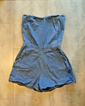 Urban Outfitters ByCorpus VINTAGE Denim Romper Shorts S - $31.48