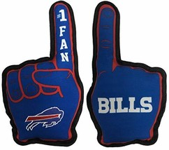 NFL Buffalo Bills #1 Fan Toy for Dogs & Cats. Best Tough PET Toy with In... - $13.85