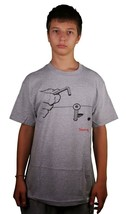 Diamond Supply Co Bolts Heather Gray Or White Short Sleeve Cotton T-Shirt image 1