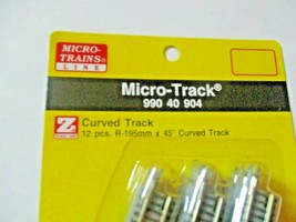 Micro-Trains Micro-Track # 99040904 Track Curved R-195MM 45 Degree  Z-Scale image 2