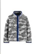 Oshkosh B'gosh $24 Lightweight Fleece Toddler Boys Jacket Camouflage Camo NWT - $14.00