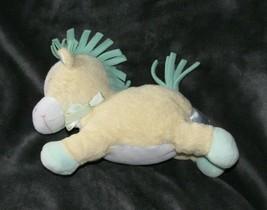 "9"" BABY KIDS PREFERRED YELLOW HORSE PONY RATTLE STUFFED ANIMAL PLUSH TOY LOVEY image 1"