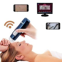 Digital Microscope, 5-200 X Wireless Wifi + USB Skin Hair Scalp Detector... - $105.93