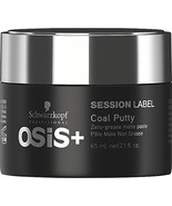 Osis Session Label Coal Putty Matte Paste 65g - $17.99