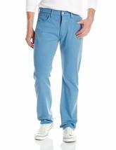 Levi's 501 Men's Original Fit Straight Leg Jeans Button Fly Blue 501-2224 image 2