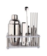 New Premium Barware Bar Tool Set 12 Pieces Bartender Kit Includes Shaker... - $993,62 MXN