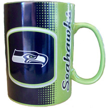 Seattle Seahawks NFL Big Daddy Container Coffee Tea Cup Mug Ceramic 1 QT... - $38.61