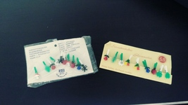 Vintage Ru Ra Glass Marker Clips Germany  - $24.99