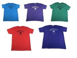 2XL Hurley Men's Tee Shirt Established MCMXCIX T-Shirt Short Sleeve Crew Neck
