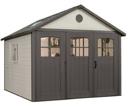 Lifetime 11x16 ft Storage Shed Kit with Tri-Fold Doors (60187 / 20125) - $3,375.98