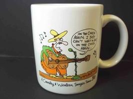 Shoebox coffee mug On the Couch again A country singer turns 50 Hallmark 10 oz - $7.47