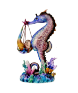 Pacific Giftware Sheila Wolk Mermaid Collection Mer Birther Seahorse Mer-Baby - $59.39