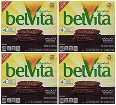 belVita Chocolate Breakfast Biscuits, 8.8 Ounce (Pack of 4) - $21.39