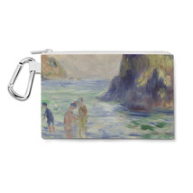 Renoir Guernsey Art Painting Canvas Zip Pouch - $15.99+