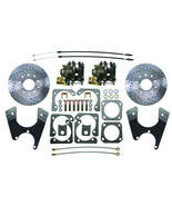 Staggered GM 10 /12 Bolt Rear End High Performance Disc Brake Conversion... - $391.99